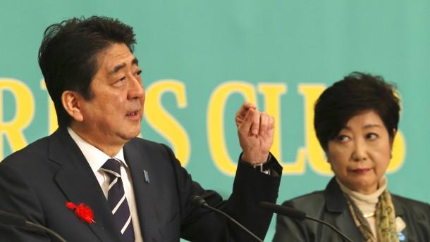 Vierte Amtszeit für Abe?