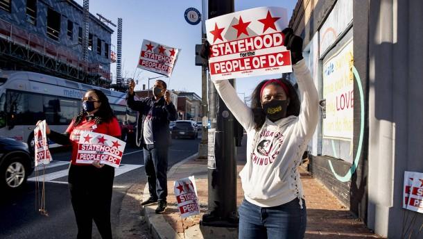 Darf Washington D.C. ein Bundesstaat werden?
