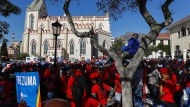 Proteste gegen Zuma in Kapstadt