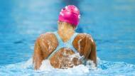 Auf Abwegen: Julija Jefimowa während der Schwimm-WM in Kasan im August 2015.