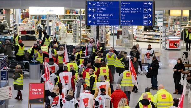 Streik lähmt Flugverkehr in ganz Deutschland
