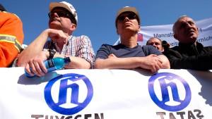 Bei Thyssen regt sich Widerstand gegen die Stahlfusion