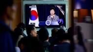 Südkoreas Präsidentin löst nach Fährunglück Küstenwache auf