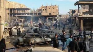 Dutzende Tote nach Luftangriffen auf Raqqa