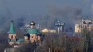 Wieder schwere Gefechte in der Ostukraine