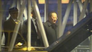 Nordkoreas Außenminister in Schweden eingetroffen