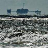 Eine Ölplattform im Golf von Mexiko (Symbolbild)