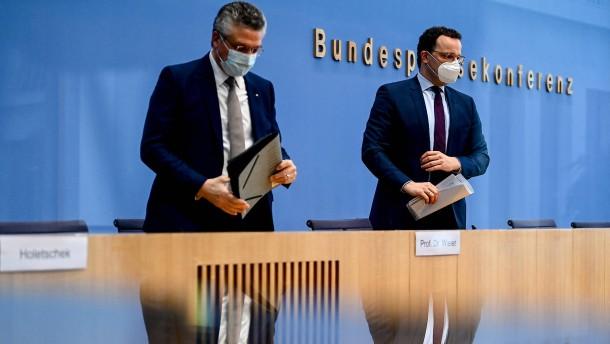 """Spahn: """"Ein kostenloser Bürgertest pro Woche"""""""