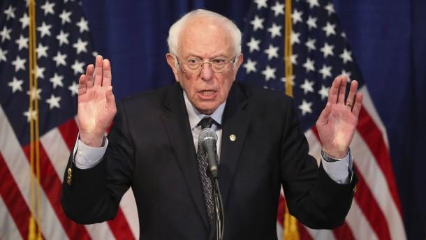 Bernie Sanders gibt nicht auf
