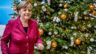 Kommet, ihr Sozialdemokraten: Merkel nach einer Sitzung des CDU-Vorstands
