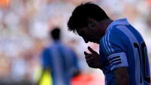 Messi wird zum Sündenbock
