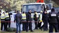 LKW-Attentäter war offenbar Palästinenser