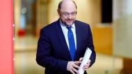 Martin Schulz von der SPD am Freitag in Berlin