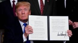 Trump kurz vor nächster Eskalationsstufe im Handelsstreit