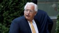 Diplomaten warnen vor Trumps Kandidaten für Israel