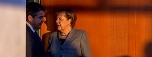 Bilden sie auch künftig eine Regierung? Angela Merkel und Außenminister Gabriel am Mittwoch im Berliner Kanzleramt.