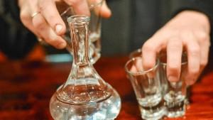 Russland macht Fortschritte im Kampf gegen Alkohol