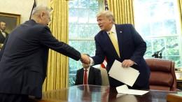 Trump verkündet Teileinigung im Handelsstreit mit China