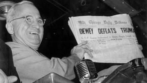 Bild /Truman defeats Dewey
