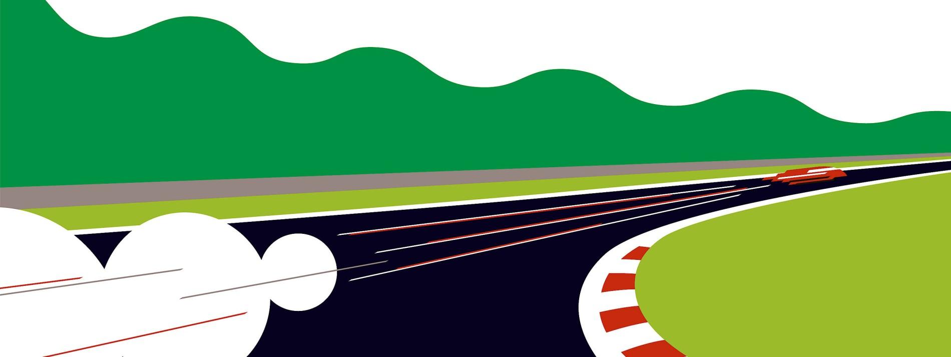 Mit dem Porsche durch die Hölle der Nordschleife