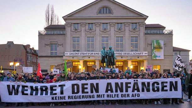 Die Wende von Erfurt