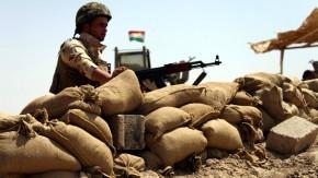 Bald auch mit deutschen Waffen? Ein Kämpfer der kurdischen Peschmerga