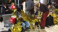 Flüchtlinge verhindern Zugverkehr im Eurotunnel