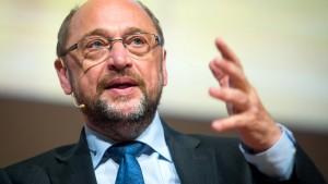 Schulz warnt vor Wiederholung der Flüchtlingskrise