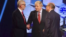 Johnson schlägt Corbyn bei letztem TV-Duell