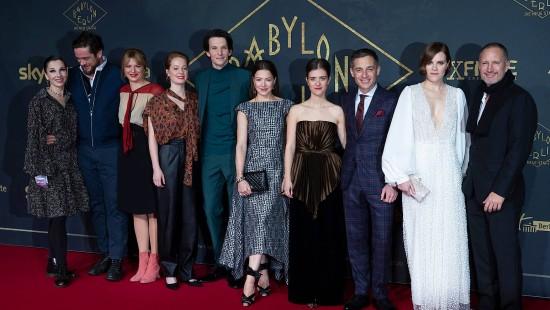 """Roter Teppich für die 3. Staffel von """"Babylon Berlin"""""""