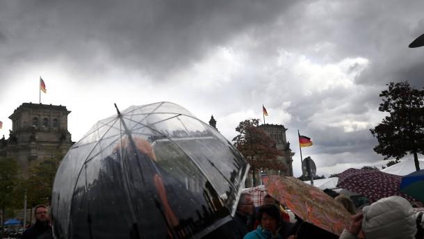 Deutschland steht der nächste schwere Herbststurm bevor