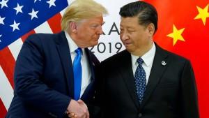 Trump schaltet sich in Hongkong-Krise ein
