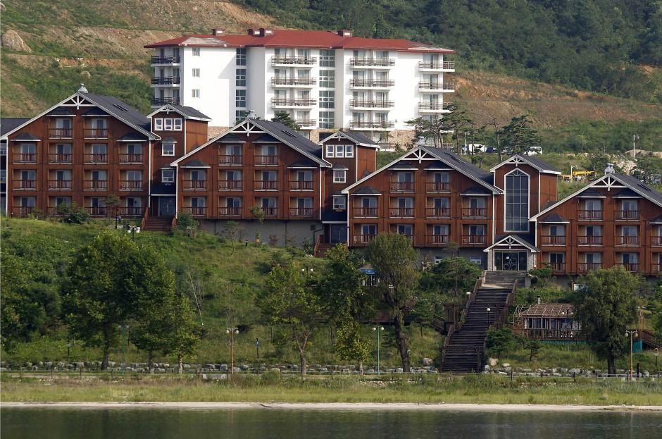 Einst als Zeichen der Annäherung gedacht: Nordkorea hat Südkorea aufgefordert, bis Ende Februar Hotelanlagen am Berg Kumgang auf nordkoreanischem Grund abzubauen.