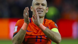 Robben beendet Karriere in Nationalteam