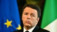 Renzi legt sich auf Wahlen in zwei Jahren fest