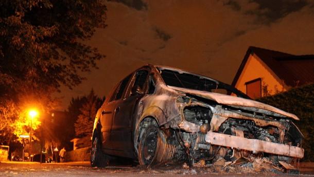 Sieben Jahre Haft für Autobrandstifter
