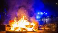 Kontrollverlust: Das Hamburger Schanzenviertel am 9.Juli
