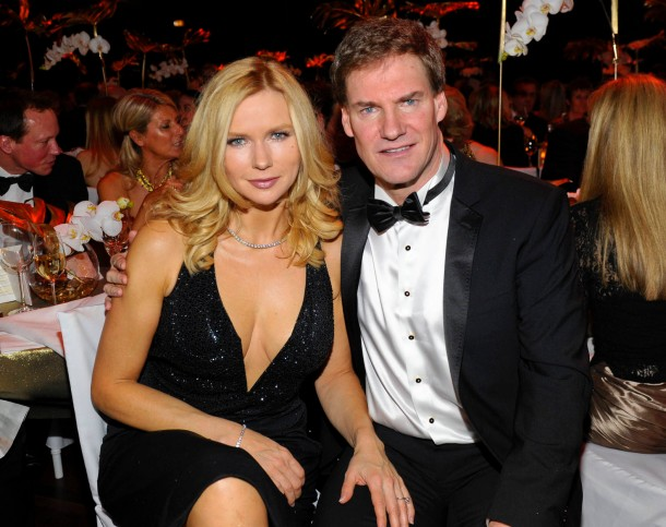Veronica Ferres with cool, Husband Carsten Maschmeyer