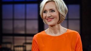 "Petra Gerster vor ihrer letzten ""heute""-Sendung"