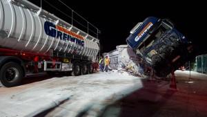 Lastwagen verursacht Extremstau auf der A1 bei Münster