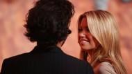 """""""Jemand in ihrem Umfeld verrät sie an die Paparazzi"""": Guillaume Zarka mit seiner damaligen Freundin Sylvie van der Vaart."""