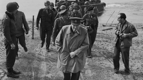 Churchill am Niederrhein