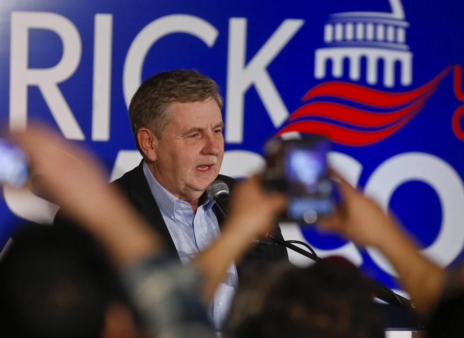 Die Republikaner um Rick Saccone investierten mehr als zehn Millionen Dollar in den Wahlkampf. Aber vielleicht hat Präsident Trump zu laut für Saccone geworben.