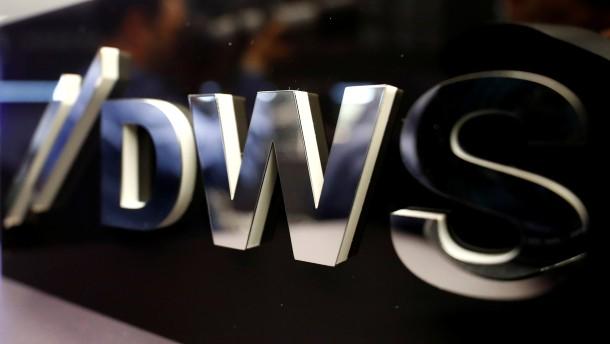 DWS weist Vorwürfe entschieden zurück