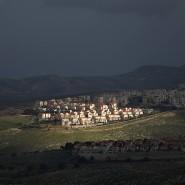 Die Siedlung Maale Adumim im von Israel besetzten Westjordanland