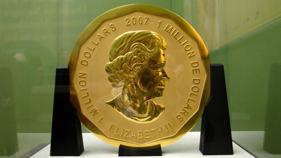 Lange Haftstrafen nach Goldmünzen-Diebstahl