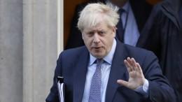Johnson droht offen mit Rückzug des Brexit-Gesetzes
