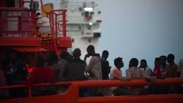 Marokkanische Marine schießt auf Flüchtlingsboot