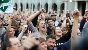 Deutliche Mehrheit für das Recht auf Abtreibung