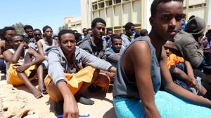 Die Küste der Menschenhändler